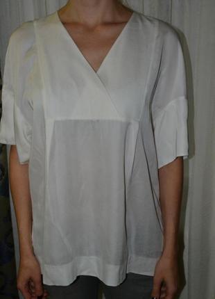 Блуза от cos натуральная вискоза