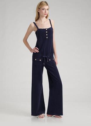 Приятный комбинезон кюлоты, плюшевый комбез костюм, оригинал juicy couture
