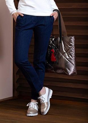 Брендовые модные джинсы коллекция осень 2019 nin niv белоруссия размер 48/50