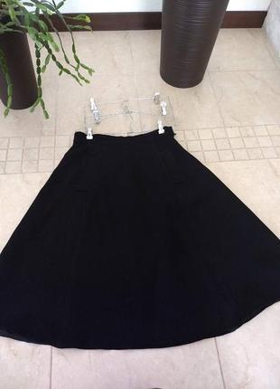 Классическая юбка-трапеция