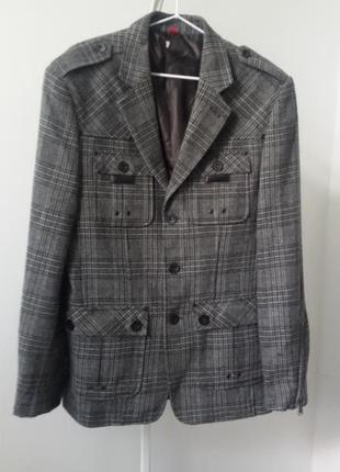 Пиджак 48 р. lmc шерсть