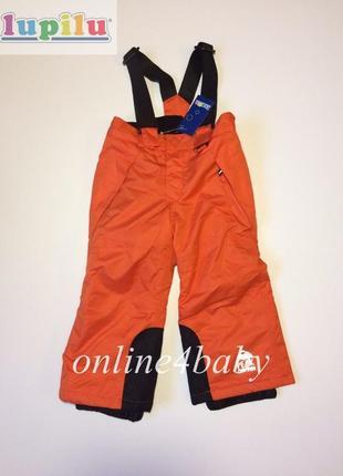 Детские зимние лыжные штаны lupilu на мальчика 4-6 лет