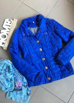 Куртка весна-осень ,куртка на пуговках , матовая плащовка