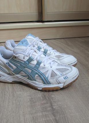 Беговые кроссовки asics gel lyte 39 р кожа и сетка спортивные,женские