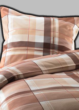 Двуспальный постельный комплект tchibo (германия) (фланель)