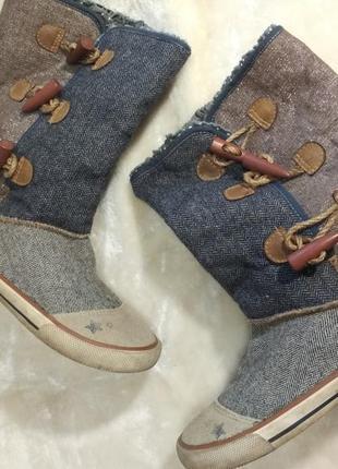 Стильные , модные угги  next джинсовые. ботинки. кеды. сапожки. мокасины. обувь