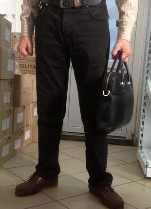 Деловая сумка *knomo* натуральная кожа