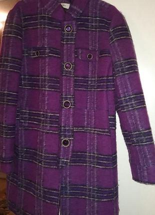 Пальто демисезонное, яркое, модное