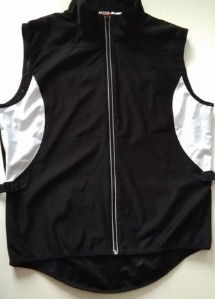 Мужская жилетка веложилетка жилет для бега вело одежда