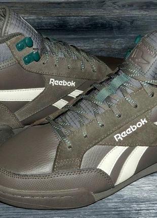Reebok royal ! оригинальные, стильные,кожаные невероятно крутые кроссовки