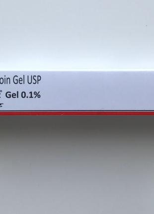Третиноин крем гель  0.1 и 0.05 | 20г оригинал 0635243472  .