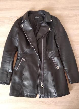 Удлиненная куртка косуха