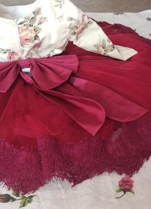 Платье на год2 фото