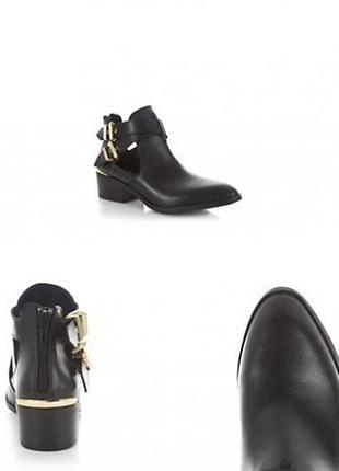 Кожаные ботинки  newlook оригинал р.37