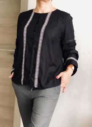 Красивая блузка рубашка из вискозы