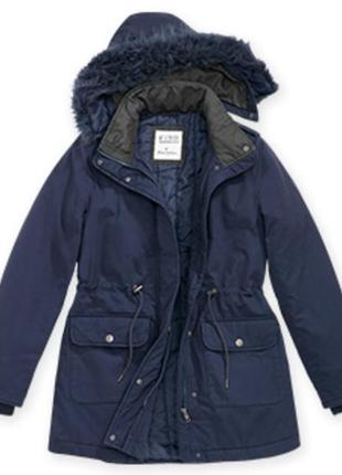 Парка, куртка, зима s 36-38 синяя blue motion, германия