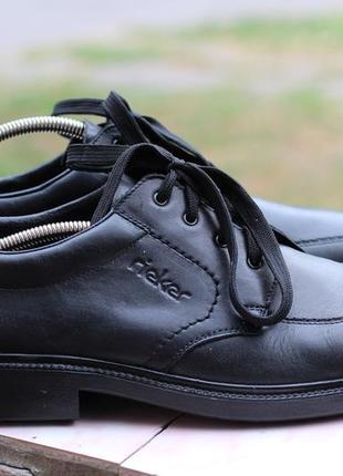 Кожаные туфли rieker 45-46