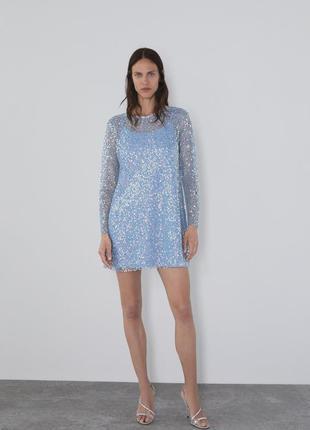 Платье zara новая коллекция