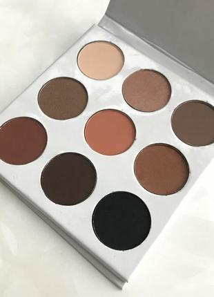 Палитра теней eyeshadow bronze palette