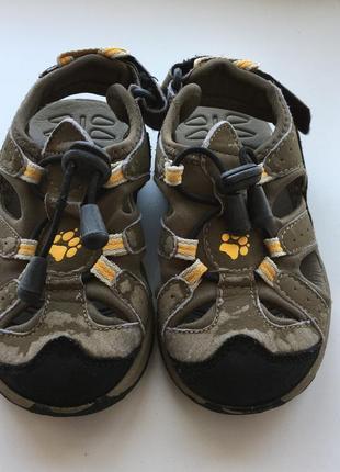 Босоножки сандали 26р 16,5см босоніжки сандалі jack wolfskin