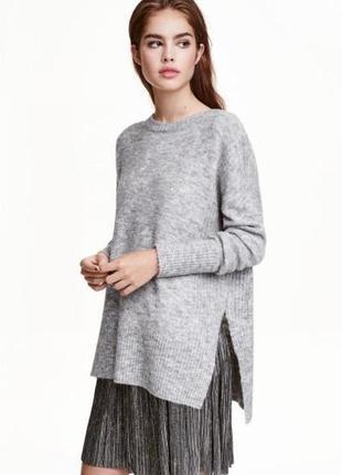 Оригинальная плиссированная юбка от бренда h&m разм. м