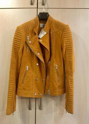 Кожаная замшевая куртка косуха gestuz оригинал
