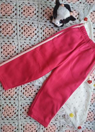 Тёплые спортивные штаны на девочку 4 года