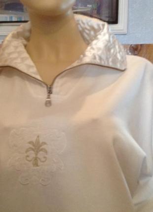 Натуральный свитшот (свитер, кофта) стиль унисекс бренда tcm, р. 54-58