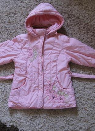 Демисезонная куртка для девочки kiko