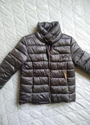 Стильная дутая курточка befree 🔝 (легкий пуховик)