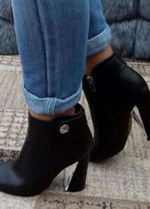 Ботиночки на каблуке, размер 38