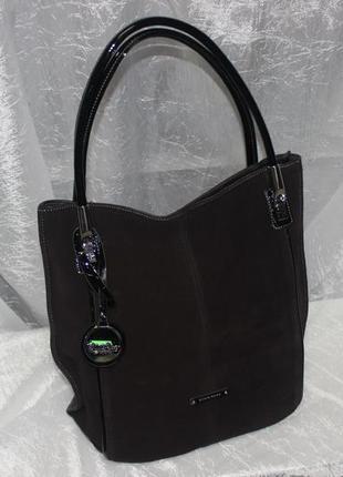 Продам женскую комбинированную сумку