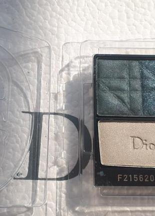 Тени dior 3 couleurs smoky №381 тестер по срокам