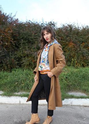 Пальто шерсть4 фото