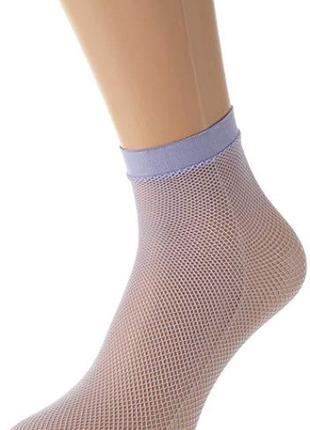 Брендовые фантазийные носочки сеточка dim франция