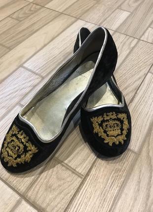 Стильні плюшеві туфлі solitabotti 39р