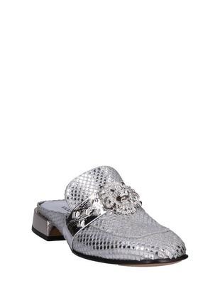 Ультрамодные сабо итальянского дизайнера viola hudson обувь класса люкс