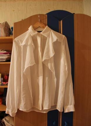 Блузка блуза белая