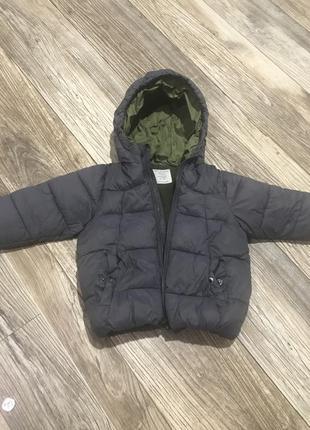 Зимняя курточка zara2 фото