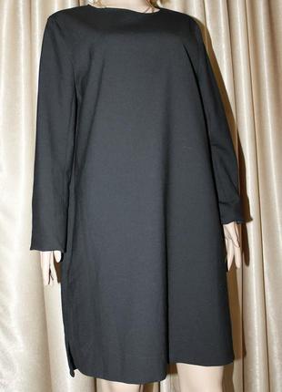 Стильное шерстяное платье с карманами от cos