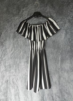 ✅  кокетливое лёгкое платье волоску с воланом