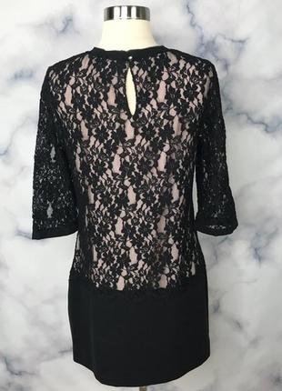 Черное кружевное платье ted baker4 фото