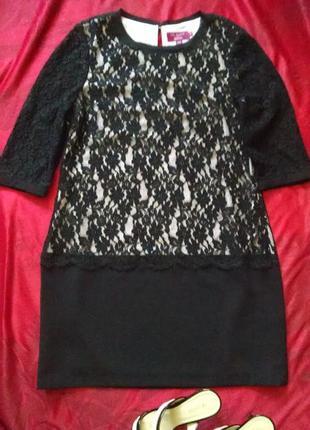 Черное кружевное платье ted baker6 фото