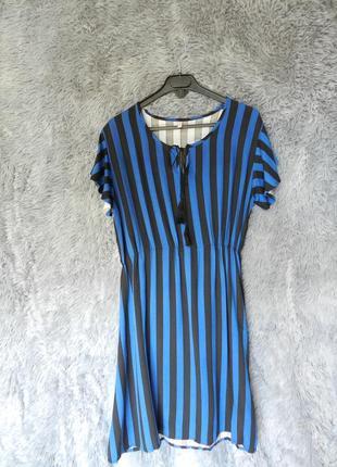 ✅  лёгкое платье в полоску