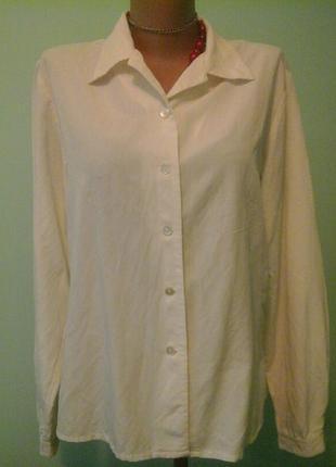 Офисная рубашка jennifer, терпкая вискоза, p.l-xl