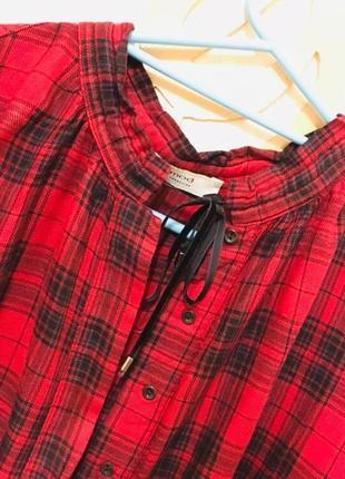 Клетчатая рубашка/блуза