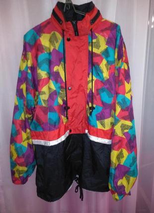 Винтажная куртка ветровка