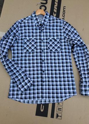 Классная рубашка в кубик