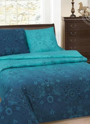 Притяжение - натуральное постельное белье из поплина