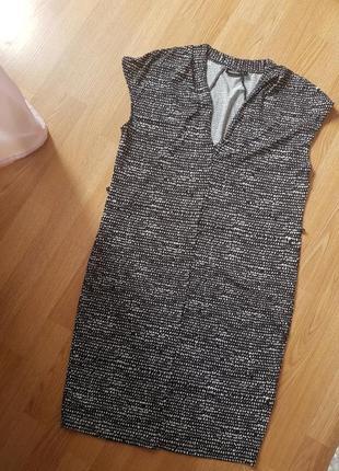Платье прямого кроя размер s-m
